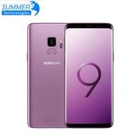 Desbloqueado samsung galaxy s9 4g android celular 4g ram 64g rom octa-core 5.8 121212mp duplo cartão de impressão digital nfc smartphone