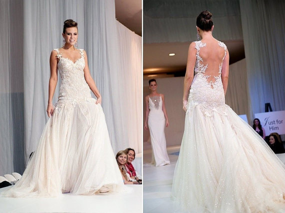 Free Shipping 2018 New Design Hot Sale Backless A-line Custommade Lace Appliques Beading Bridal Gowns Mother Of The Bride Dress