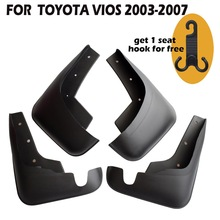 4 Pcs Set Molded Mud Flaps Mudflaps Splash Guards Front Rear Mud Flap Mudguards Fender YC101081 set molded mud flaps for honda fit jazz 2014 2017 mudflaps splash guards front rear mud flap mudguards fender 2015 2016