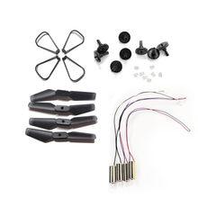 S171 xt6 ls-quadcopter rc zangão cw ccw motor motores engrenagens peças de reposição kit