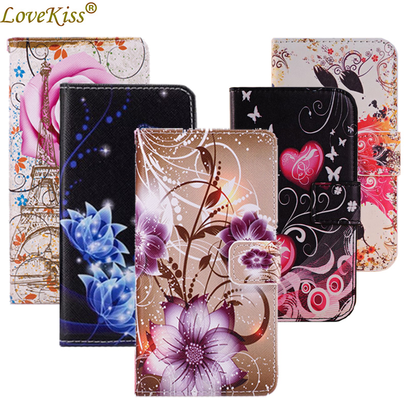 Flower Leather Phone Bag For <font><b>Samsung</b></font> <font><b>Galaxy</b></font> S10 S9 A10 A20 A30 A40 A50 A70 A7 A9 J2 Pro J3 J5 J7 J8 J4 J6 Plus <font><b>Case</b></font> Wallet Cover image