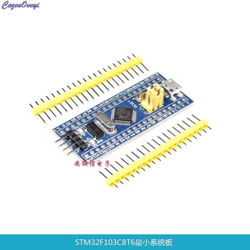 1pcs/lot STM32F103C8T6 ARM STM32 Minimum System Development Board  In Stock