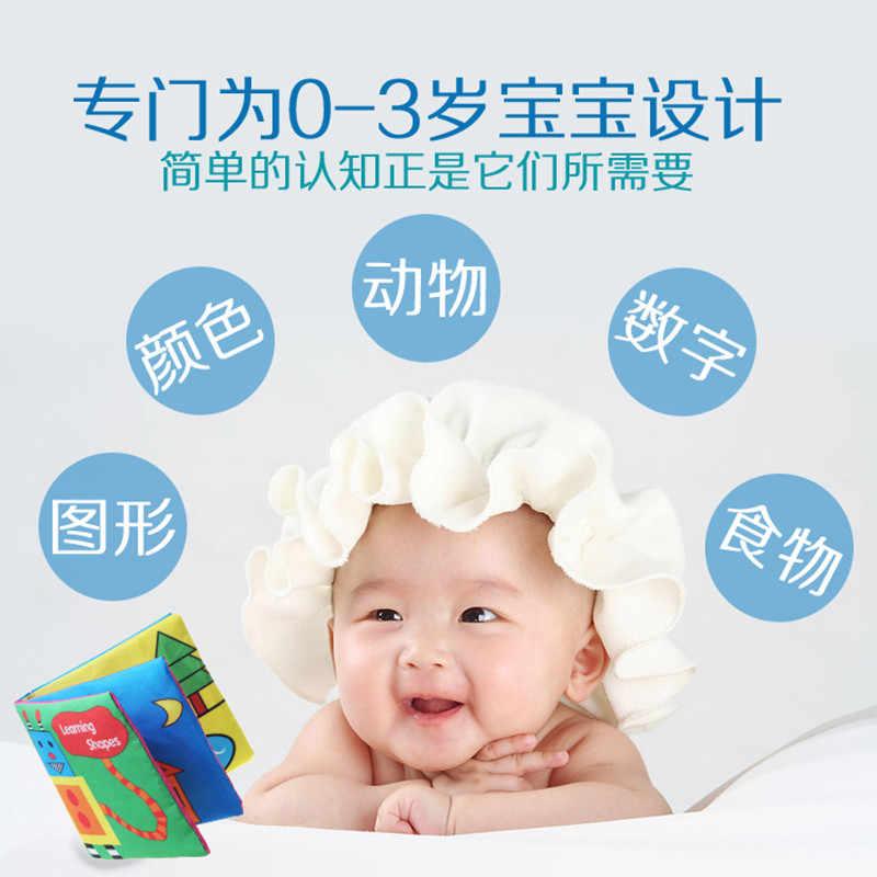 Newborn Baby Toys Sound Soft Cloth Books Baby Intelligence Development Infant Educational Stroller Rattle Toddler Boy Toys