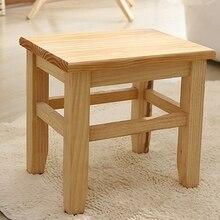 Chair Stool Bench Living-Room Bath Sofa Wood Shoe Tea-Table Multi-Function On-Slip Small