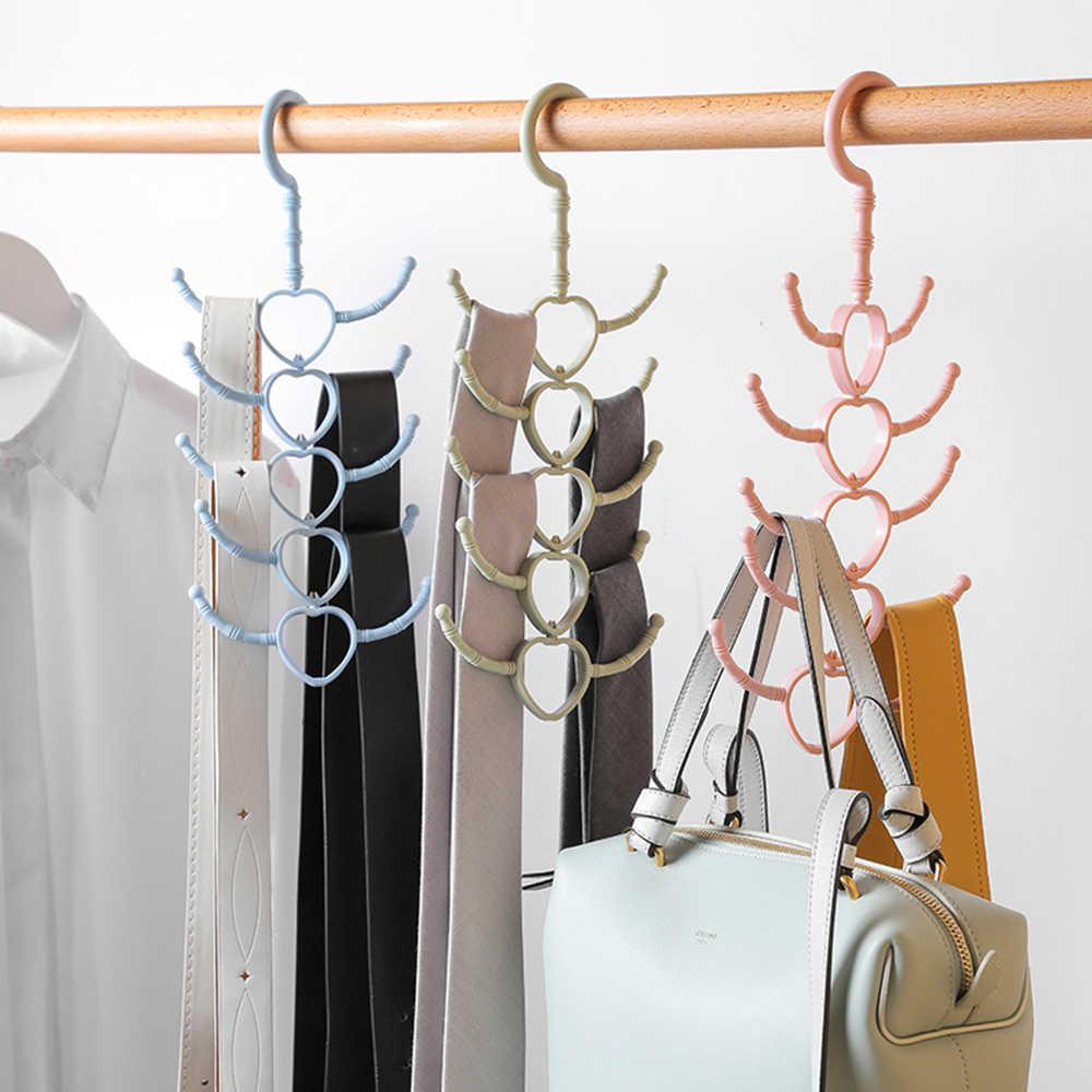 Scarf Hanger Black Metal Hanging Wall style Hang Bag design Ties Belts