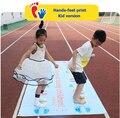 Игровой коврик для рук и ног команда расширит реквизит для тренировок на открытом воздухе группа строительство Веселые Игровые колодки дет...