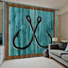 3d оконные шторы европейские ретро для гостиной двери в спальню