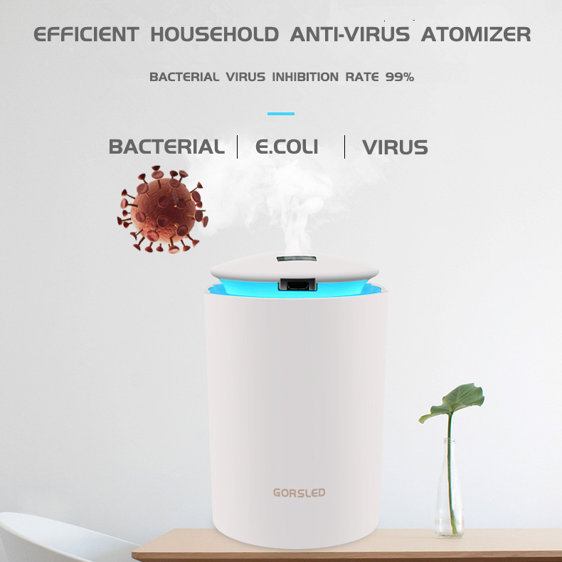 Household Air Disinfection Atomizer Sterilize Nebulizer Antivirus Humidifier Steam Fogging Diffuser Anti Bacterial Purifier
