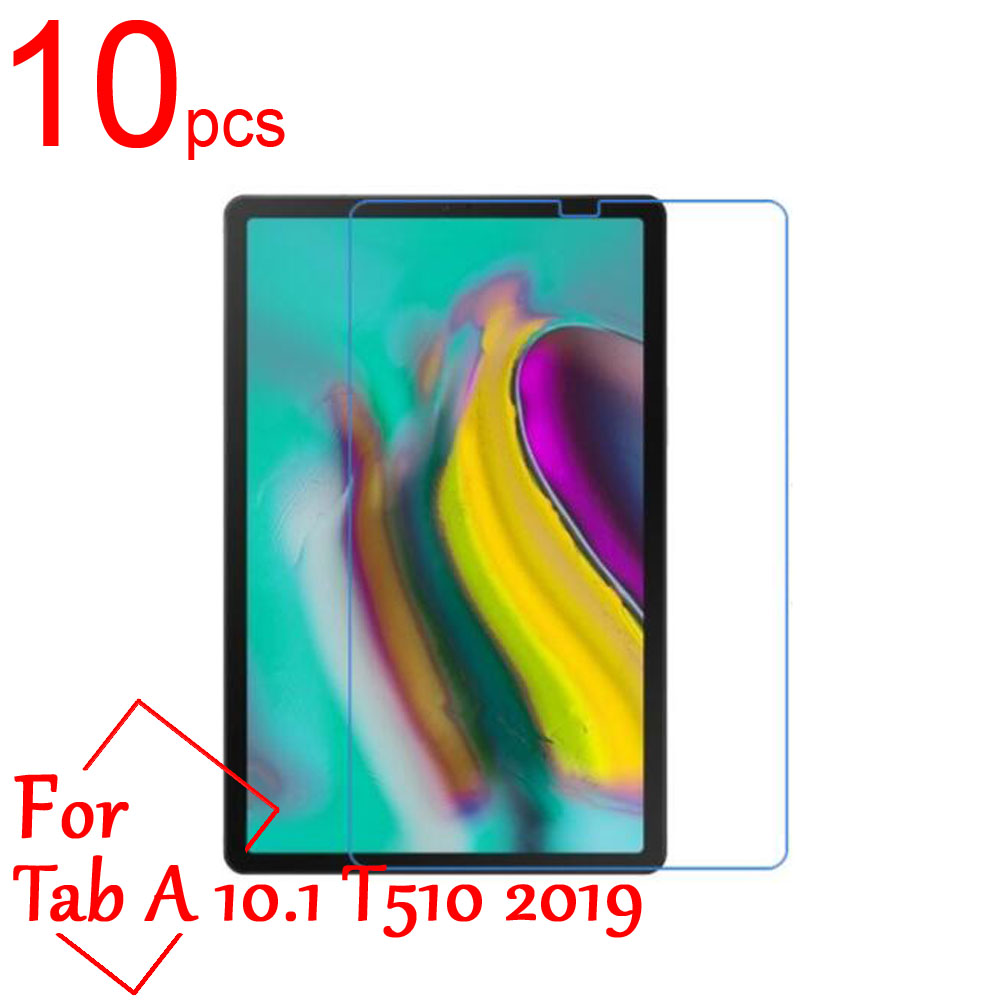 10pcs Clear/Matte/Nano LCD Screen Protectors Cover for Samsung Galaxy Tab A 10.1 T510 T515 P580 T580 T585 2016 2019 Tablet Film