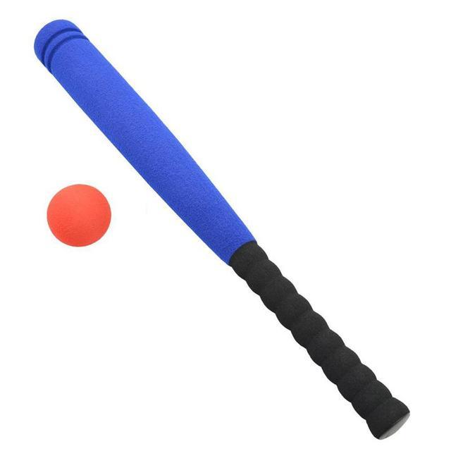 Wooden Fluorescent Baseball Bat /& Soft ball Rounders Holiday Camping Garden Set