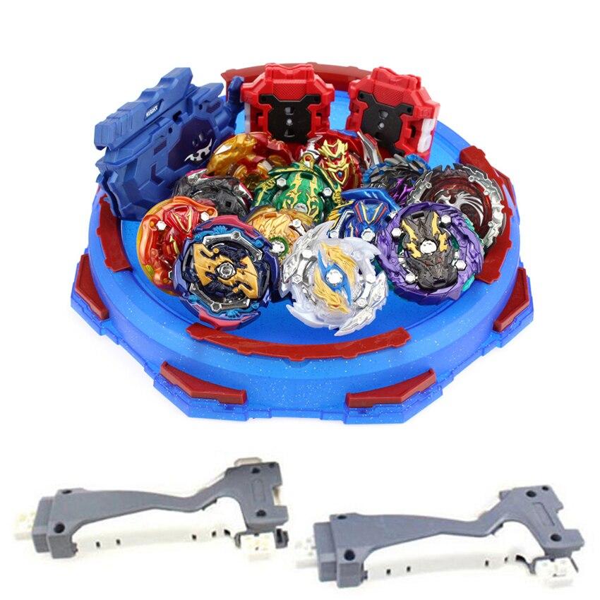 Toupie Beyblade Arena métal Fusion Avec porte-clés Bayblade Bleyblade rafale Avec Lanceur enfants Bey lame lames jouets pour enfants