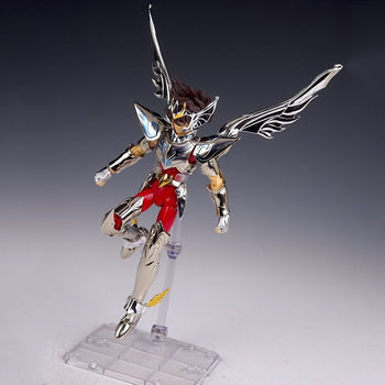 Original Bandai Saint Seiya Heaven Chapter Overture Pegasus Seiya 15th Anniversary Action Figure Metal Armor Model Toys original bandai tamashii nations saint cloth myth action figure sagittarius seiya from saint seiya omega