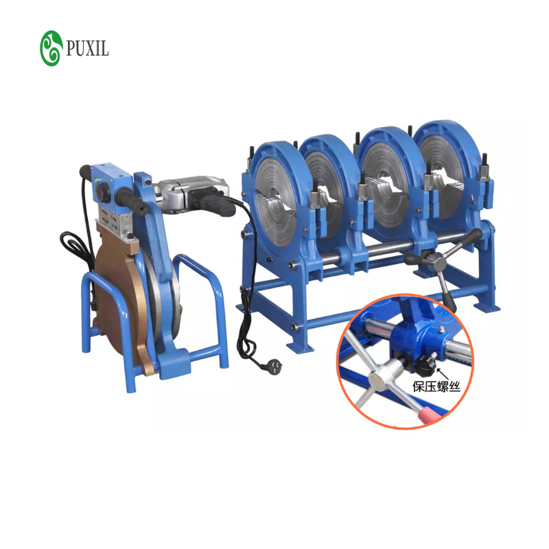 63-200 Manual Thrust Butt Welding Machine PE Fusion Welding Machine PE Precision Hot Melting Machine Butt Fusion Welder 220V