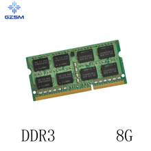 GZSM Laptop Memory DDR3  8G Cards 1066MHz 1333MHz 1600MHz RAM 204pin