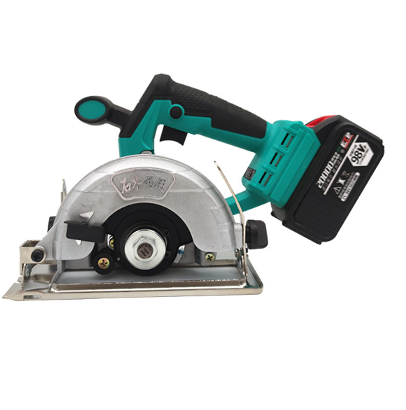 7inch Infrared Electric Saw 165MM Large Saw Blade Electric Circular Saw Electric Tool Woodworking Electric Saw 2.0/3.0AH 98/128V