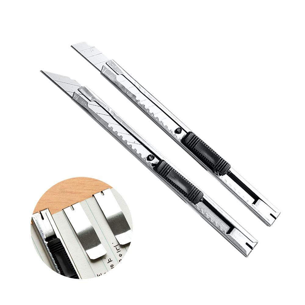 1 шт. художественный нож для открывания букв универсальный нож бумага и офисный нож Diy Резак канцелярские принадлежности Школьные
