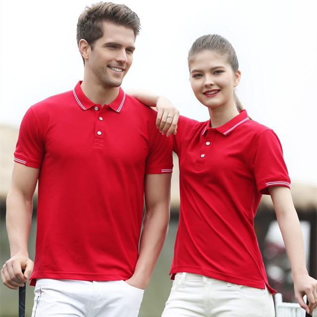 Womens  POLO Shirt Top Solid Color Breathable Work Clothes Fashion Casual High Quality Short Sleeve Couple Wear Girls XL
