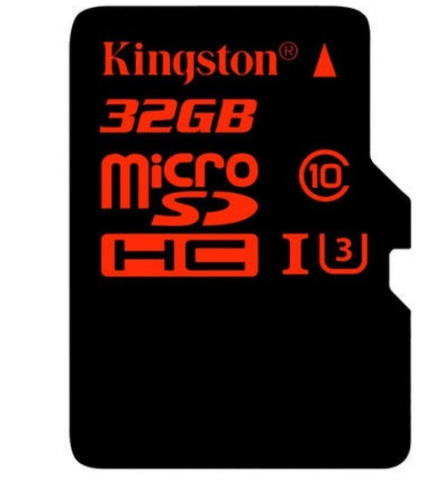 Kingston Kingston 32G UHS-I C10 TF Card High Speed Memory Card Reading Rate 90M/S China Red