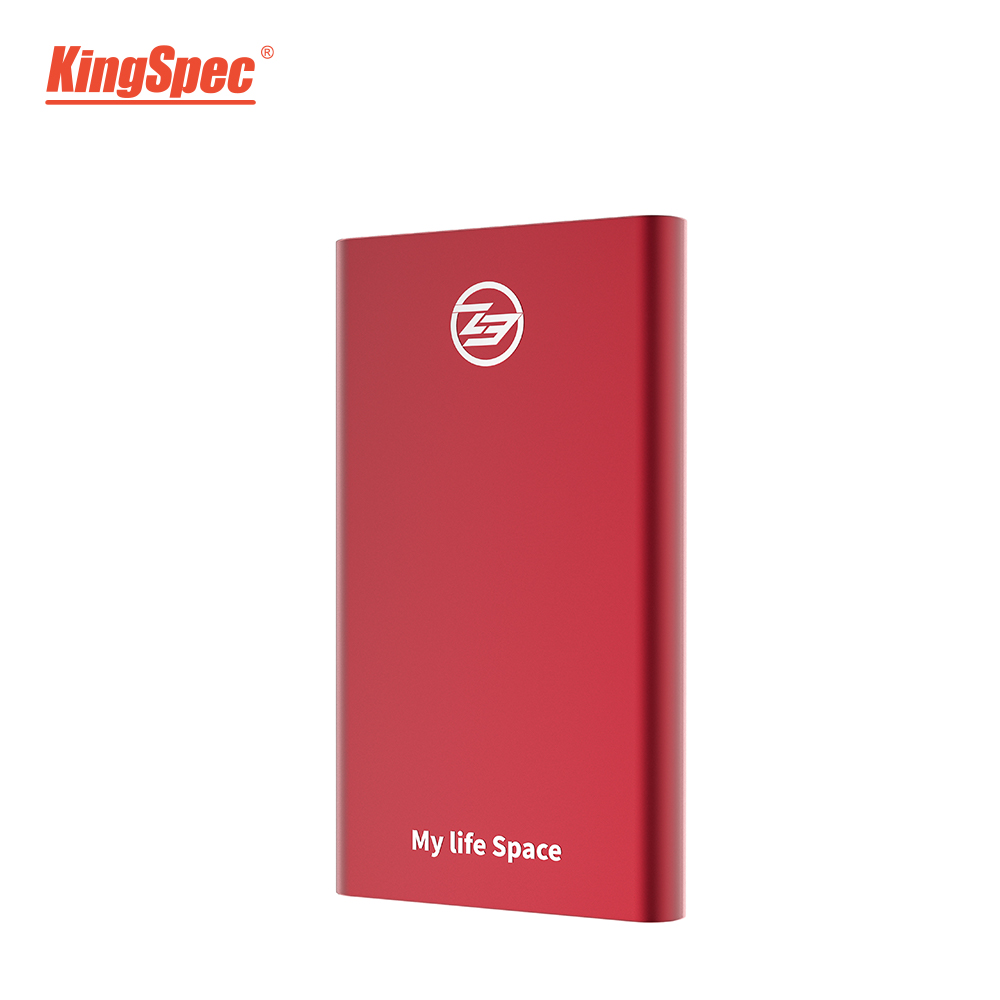 KingSpec External Portable SSD 1TB Hard Disk Drive External SSD Portable Hdd For Laptop Notebook PC With Type C USB 3.1