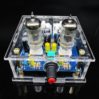 6J1 Tube Amplifier Preamp Board Pre-amp Headphone Amp 6J1 Valve Preamp Bile Buffer 2.0 Channel Stereo Audio amplificador Diy Kit diy kit ac 12v 6j1 tube fever pre amplifier preamp amp pre amplifier board headphone buffer module stereo potentiometer valve