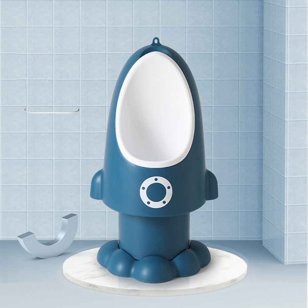 New Arrival Baby Boy Potty Toilet Wall-Mounted Urinal Pee Training Stand Vertical Rocket Urinal Boys Pee Adjustable Urinal