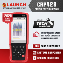 Launch CRP429 OBD2 Diagnostic Scan Tool Android 7.0 Alle Systeem Diagnoses Crp 429 Abs Bloeden, Injector Codering, immo Key Programma