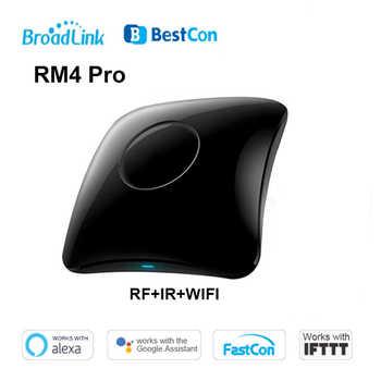 Broadlink RM4 Pro Universele Intelligente Afstandsbediening Smart Home Wifi + IR + Rf Schakelaar Werk erfüllt Alexa