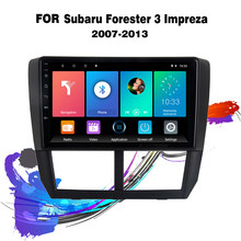 Eastereggs Für Subaru Forester 3 Impreza 2007-2013 9 inch 2,5 D Auto Multimedia-Player 2 Din Android GPS navigation Kopf Einheit