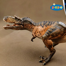 Papo Simulación de dinosaurio, modelo de Animal, Gorgosaurus, juguetes para niños