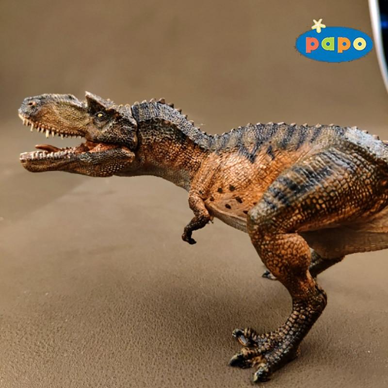Papo Simulation Dinosaur Animal Model Gorgosaurus Children Toys