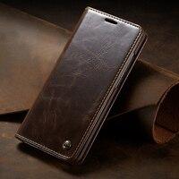 Lüks kapak kapak Samsung Galaxy not için 10 S10 artı S10E hakiki gerçek deri cüzdan kart tutucu telefon kılıfı