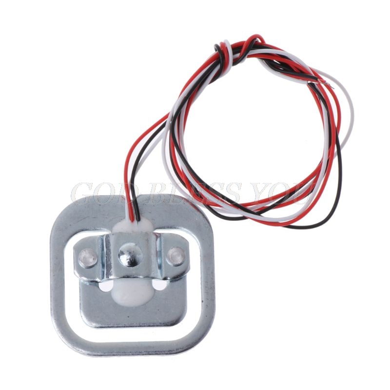 50kg 110lb Half-Bridge Weighing Sensor 3-Wired Load Cell Electric Resistance Strain Gauge For Arduino Drop Shipping