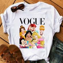 T Shirt GIRL Vogue Funny Princess WOMEN Harajuku TShirts Camiseta Mujer 2020 Summer Femme Korean