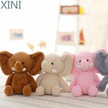 Xini 20 см розовый слон мягкие Животные новейшая одежда для