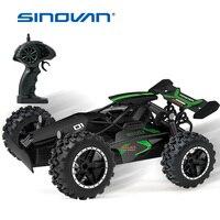 Sinovan-coche teledirigido 2WD para niños, coche de carreras de alta velocidad con Control remoto, 1:18, 2,4G, Radio de carretera, juguetes para niños, regalo