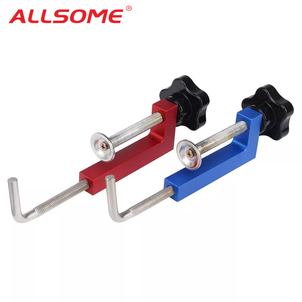 Aluminum Alloy Fence Clamp Woodworking Clamp G Clip Dedicated Fixture Adjustable Frame Fast Fixed Clamp For Woodworking Benches