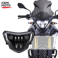 Warranty For BMW G310GS G310R 100W LED Headlights for BMW G 310GS 310R Motorcycle Lights with Complete Devil eyes Assembly Kit