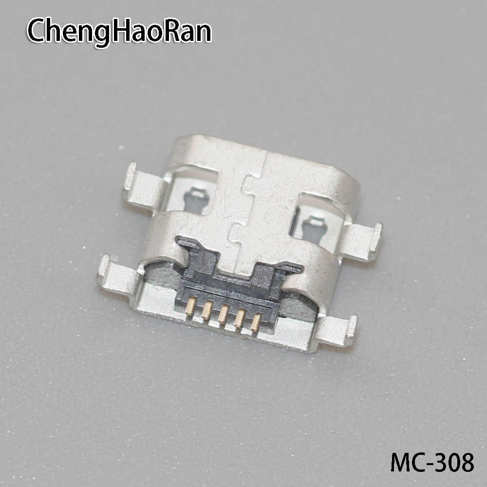 1PCS 5P Micro USB connector Voor Alcatel One Touch POP 7 P310A/voor Acer ICONIA A1-830 A1-810 opladen poort Opladen socket