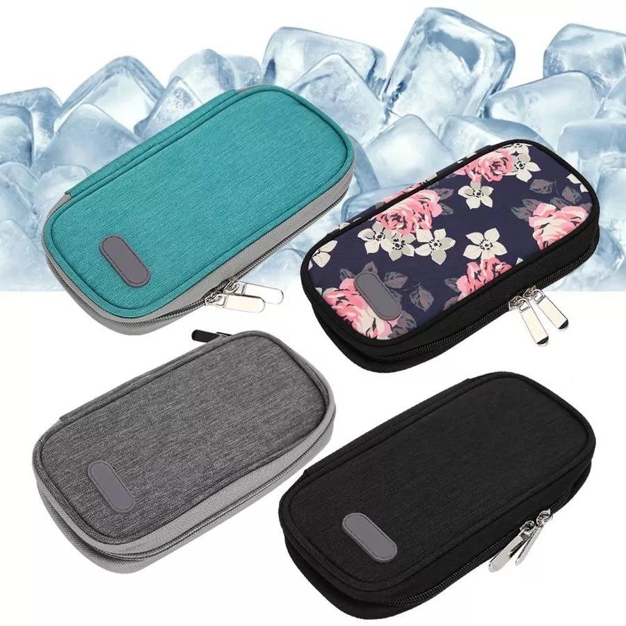 Портативная оксфордская тканевая сумка для холодного хранения, сумка-холодильник для путешествий, сумка-холодильник для людей с диабетом