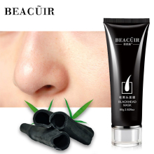 BEACUIR Black Mask Blackhead Remover Nose Mask Acne Treatment Pore Strip Peeling Black Head Deep Clean Skin Care Face Mask 80g