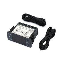 KT-304 цифровой регулятор температуры терморегулятор Термостат термопара датчик с функцией охлаждения размораживания вентилятора