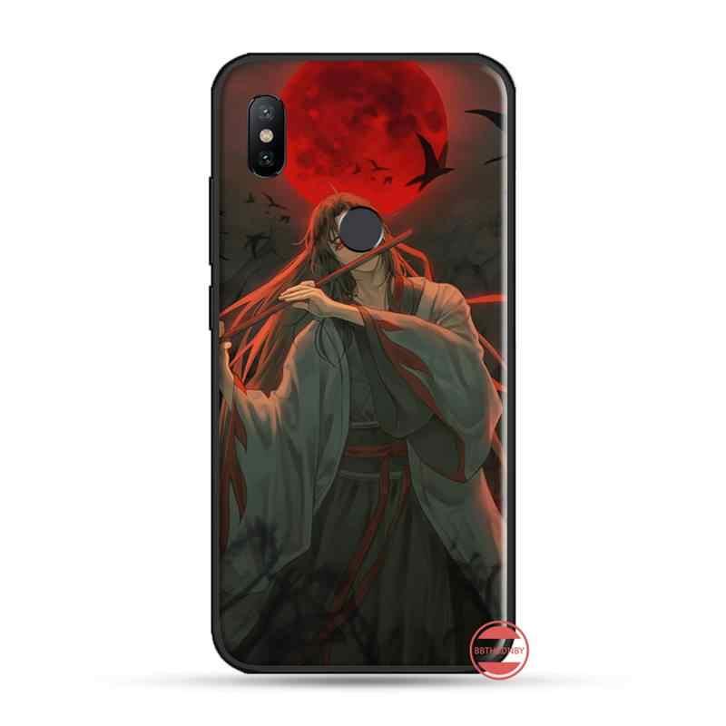 Mo Dao Zu Shi anime çin yumuşak siyah telefon kılıfı için Xiaomi Redmi 4x5 artı 6A 7 7A 8 mi8 8lite 9 note 4 5 7 8 pro