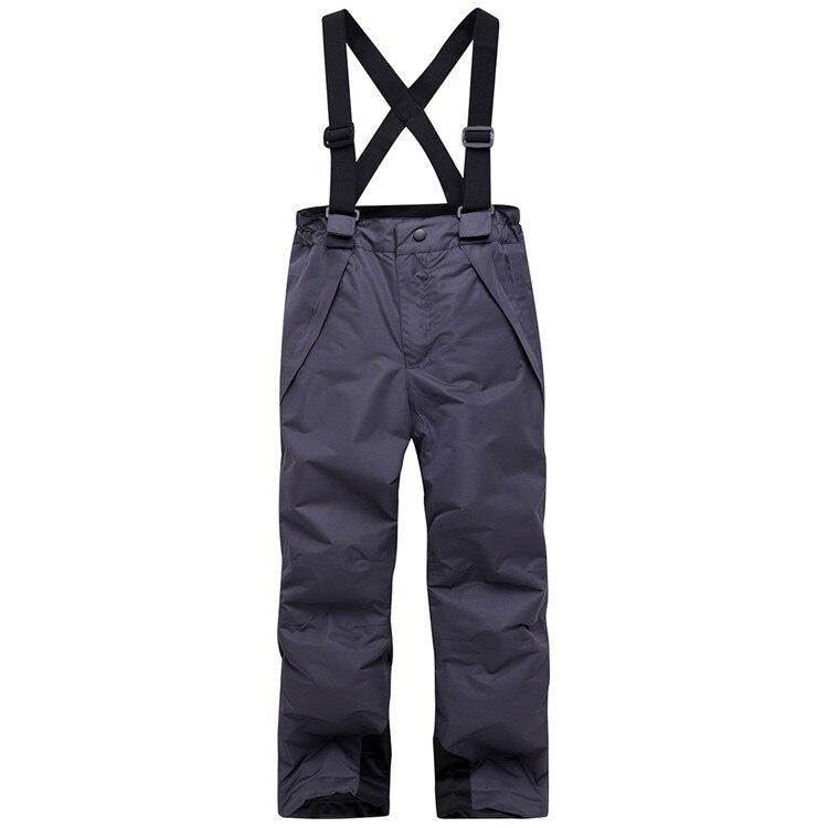 TWTOPSE/детские штаны для катания на лыжах; водонепроницаемые теплые ветрозащитные детские брюки для сноубординга; комбинезоны; детский нагрудник; зимние штаны для мальчиков и девочек