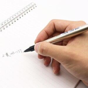 Image 5 - اليابان يوني UB 177 الكرة القلم مستقيم السائل القلم الأعمال الرياح مكتب قلم توقيع مستقيم السائل تصميم الأعمال نمط 0.7 مللي متر