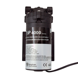Image 4 - كورونوتر 400GPD تصفية المياه RO مضخة معززة 4000NA التناضح العكسي لمياه الشرب