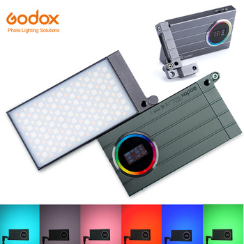 Godox M1 2500k-8500k Full Color RGB LED Light Pocket Aluminum Alloy LED Video Creative Light Multiple Special Effects Function