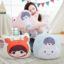Plush Toy QZHIHE Doll XVSCH Doll Little Crab Dumplings Pillow to Map Custom Star Related Doll(China)