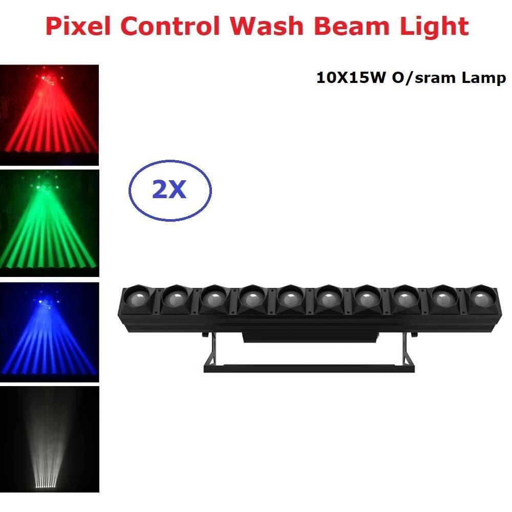10X15W RGBW 4IN1 LED Wall Wash Light DMX LED Bar DMX Line Bar Diamond Beam Lights Pixel Control Party Lighting Disco Light Dj