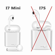 I7s i7 miniTWS Wireless Bluetooth 5.0 Earphones mini Headsets Earbuds with Mic For Iphone Samsung S6 S8 + Xiaomi Huawei LG()