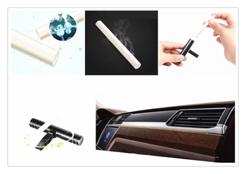 Mini car auto Air Export Aromatherapy Stick Freshener Perfume Supplement for Ford Five FG F-350 F-250 E-Series Interceptor image